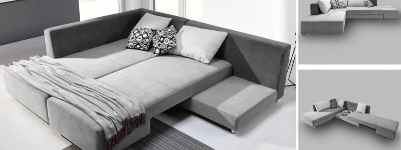 En hjørnesofa er en fantastisk mulighed for at få to ekstra sengepladser